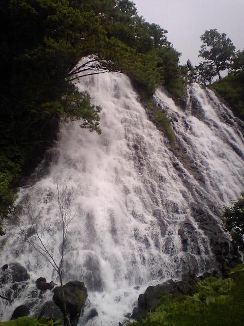 オシンコシンの滝(3)