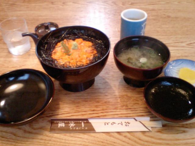 うに丼(1)