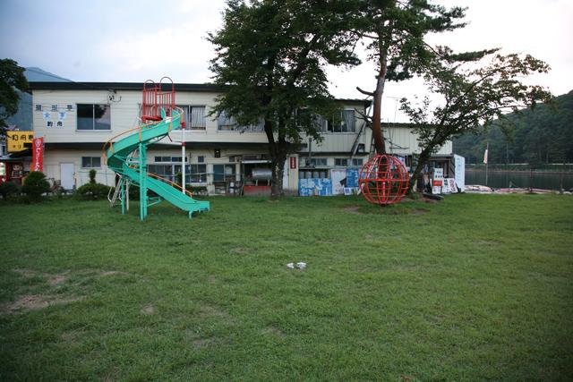 人気のなくなった公園